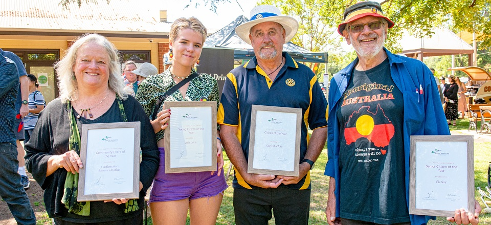 2020 Mount Alexander Shire Australia Day Awards winners