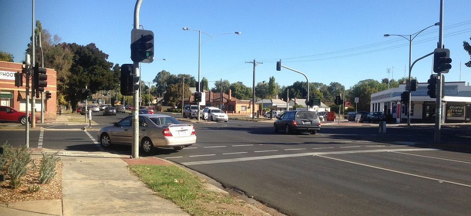 Castlemaine intersection