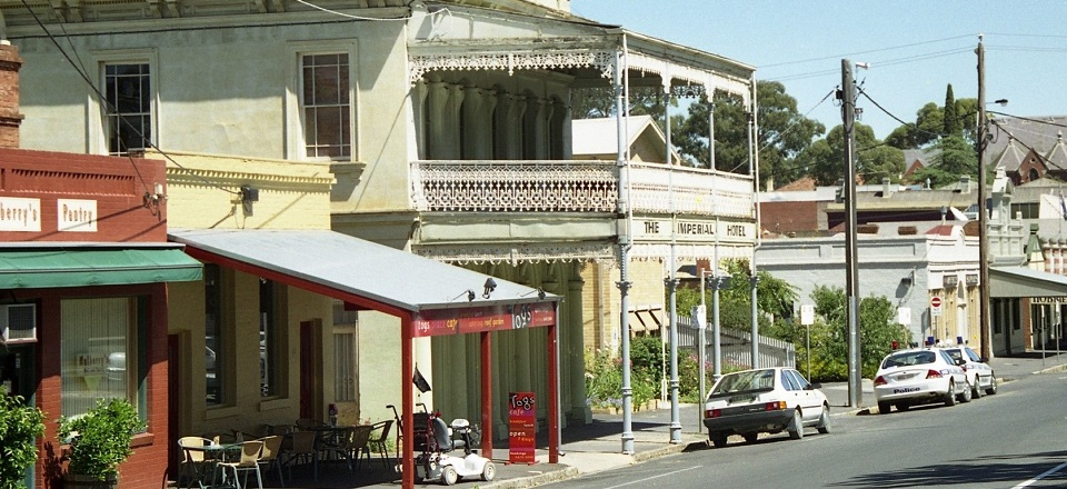 Castlemaine streetscape