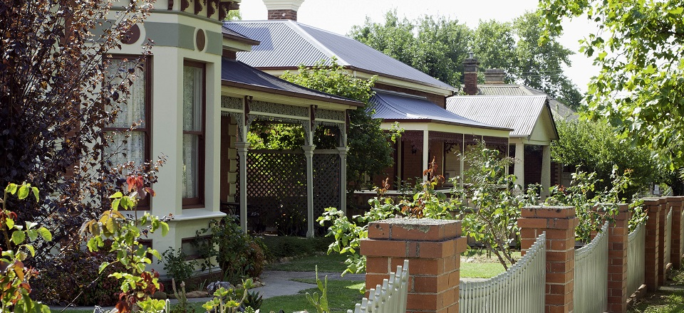 Heritage houses in Castlemaine