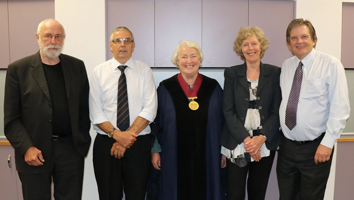 Councillors following the election of the Mayor 17 October 2017