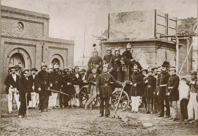 Castlemaine Volunteer Fire Brigade 1861