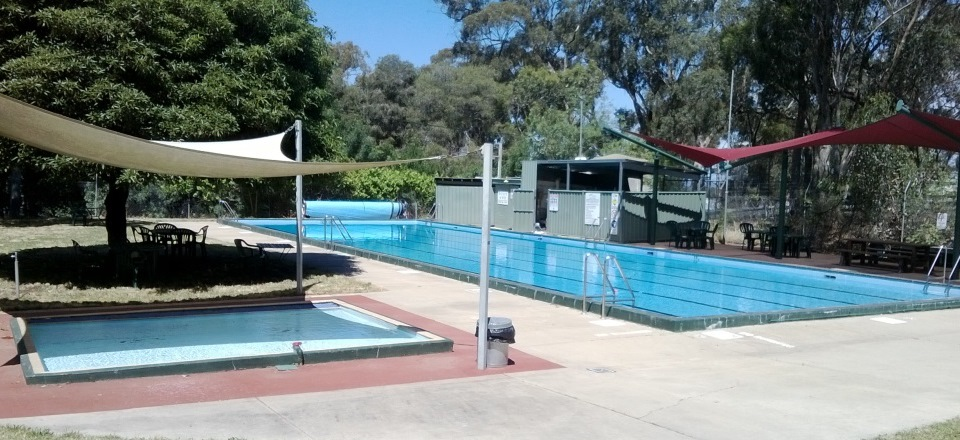 Image: Maldon Swimming Pool  Link to child page: Maldon Swimming Pool