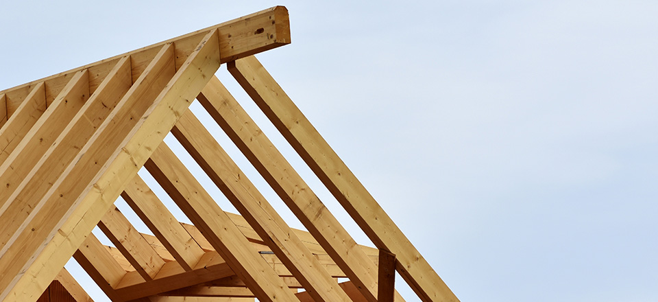 Image: Roof truss  Link to child page: Building forms and fees