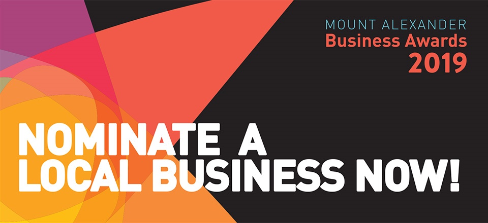 Image: Text - Nominate a local business now!  Link to child page: Business Awards