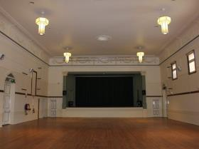 Image showing space inside the Town Hall