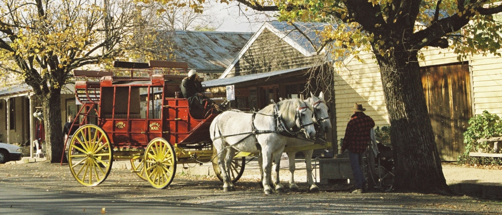 Horse and coach in Maldon