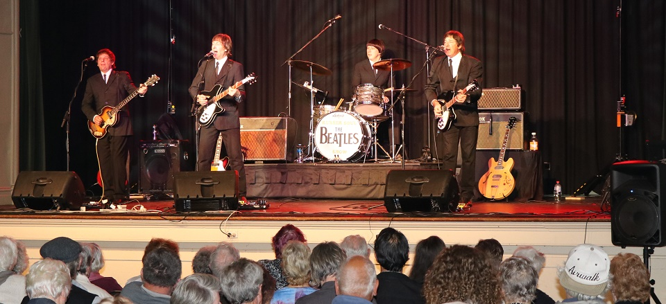 Beatles cover band Rubber Soul performs at 2017 Seniors Festival