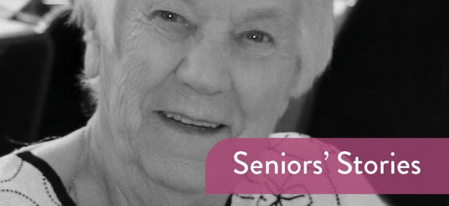 Image: Seniors Stories - Violet Evans  Link to child page: Seniors' Stories