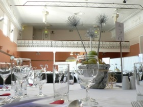 Image of a function set up at the Town Hall, Castlemaine